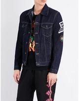Stella Mccartney Patch-detailed Denim Jacket