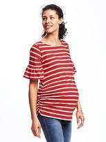 Old Navy Maternity Relaxed Ruffle-Sleeve Top