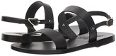 Ancient Greek Sandals Clio (Black Vachetta) Women's Sandals