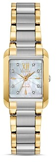 Citizen Bianca Mother-of-Pearl Dial & Diamond Index Watch, 22mm x 28mm