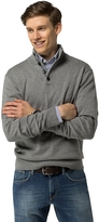 Tommy Hilfiger Cotton & Cashmere Mockneck Sweater