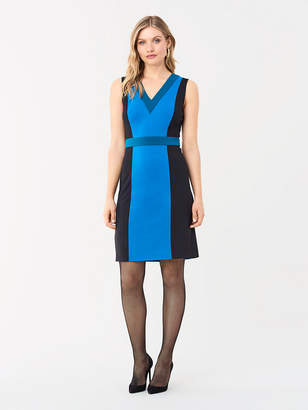 Diane von Furstenberg Arbor Stretch Ponte Shift Dress