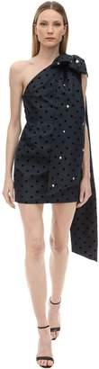Marianna Senchina Embellished Asymmetrical Mini Dress