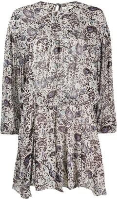 Etoile Isabel Marant Paisley Print Dress