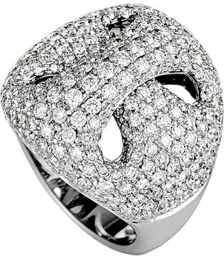 Damiani 18K 3.21 Ct. Tw. Diamond Ring