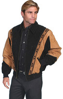 Scully Two-Toned Boar Suede Rodeo Jacket 62 (Men's)