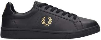 Fred Perry B721 Sneakers In Black Leather