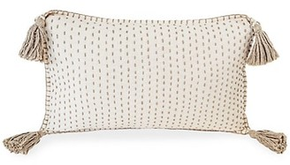 Anaya Hand Quilted Tassel Pillow
