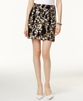 INC International Concepts Petite Floral-Print Mini Skirt, Created for Macy's