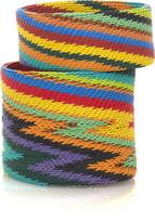 Diane von Furstenberg Sahara handmade wire bangles