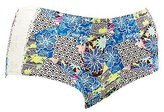 Charlotte Russe Plus Size Printed Lace-Trim Boyshort Panties