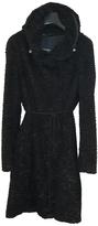 Max Mara Black Faux fur Coat