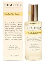 Demeter Vanilla Cake Batter by for Women Pick-Me Up Cologne Spray, 4.0-Ounce