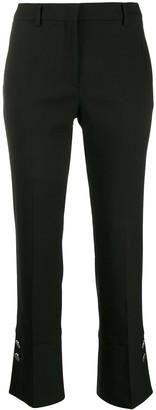 Incotex button cuff trousers