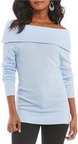 Antonio Melani Luxury Collection Tiffany Off The Shoulder Cashmere Sweater