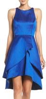 Shoshanna Romana Satin Fit & Flare Dress