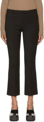 S Max Mara Black Umanita Trousers