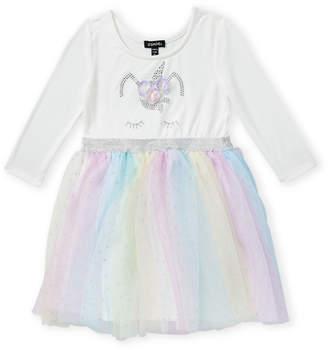 Zunie Girls 4-6x) Unicorn Tulle A-Line Dress
