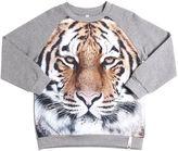Popupshop Tiger Print Organic Cotton Sweatshirt
