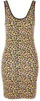 Topshop Leopard print mini dress