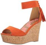 Qupid Women's Ardor-97 Wedge Sandal
