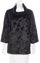Graham & Spencer Faux Fur Textured Sweater