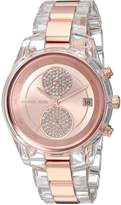 Michael Kors Women's Quartz Stainless Steel Casual Watch, Color:-Toned (Model: MK6499)