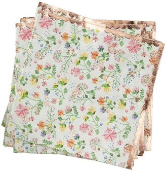 Ginger Ray Ditsy Floral Napkin Floral Set of 16