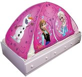 Disney Frozen Elsa and Anna Olaf Pink 2 in 1 Ez Twin Bed Canopy Tent Topper
