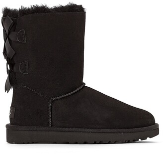 UGG Bailey Bow II Fur-Lined Ankle Boots
