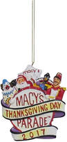 Kurt Adler Macy's Parade Ornament, Created for Macy's