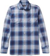 Tom Ford - Slim-fit Checked Cotton Shirt