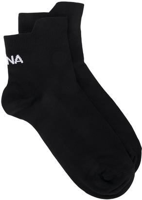 Ssheena Logo Ankle Socks