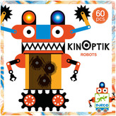 Djeco Multicoloured Robot Kinoptik Game