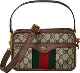 Gucci Ophidia Small Gg Supreme Canvas & Leather Shoulder Bag