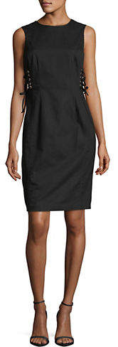Calvin Klein Side Lace-Up Dress