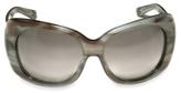 Oscar De La Renta - Thick Frame Sunglasses
