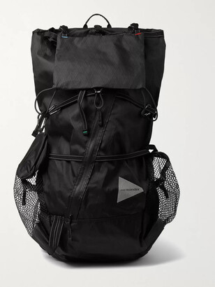 and wander CORDURA-Trimmed X-Pac Backpack - Men - Black