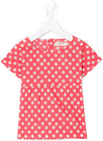 Nice Things Blurred Dots top - kids - Cotton - 10 yrs
