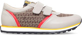 Fendi Logo leather trainers 9-11 years