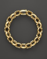 Roberto Coin 18K Yellow Gold Rounded Oval Link Bracelet - Bloomingdale's Exclusive