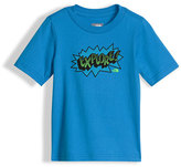 The North Face Explore Graphic Jersey Tee, Blue, Size 2-4T