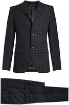 Gucci Monaco cotton-blend jacquard suit