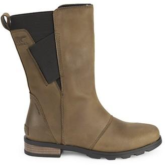 Sorel Emelie Waterproof Leather Mid-Calf Boots