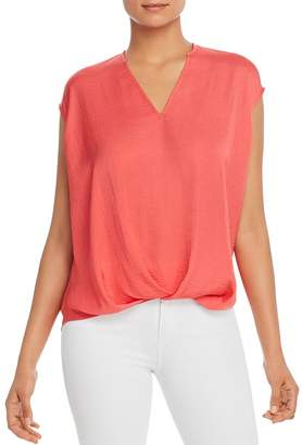 Kenneth Cole V-Neck High/Low Top