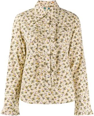 Zadig & Voltaire Trissy floral-print shirt