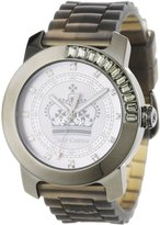 Juicy Couture Women's 1900732 BFF Grey Jelly Strap Watch