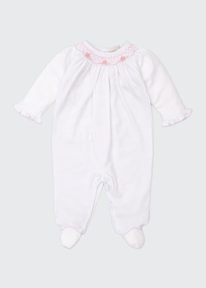 Kissy Kissy CLB Fall Smocked Bishop Footie Playsuit, Size Newborn-9 Months