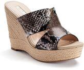JLO by Jennifer Lopez Suri Women's Espadrille Wedge Sandals