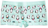 Maidenform Penguin-Print Minishort Underwear, Little Girls (4-6X) and Big Girls (7-16)
